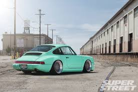 1990 porsche 911 blue 1990 porsche 911 carrera 2 super street magazine