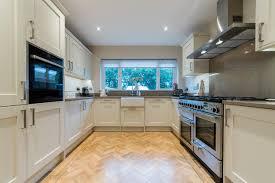 spray paint kitchen cabinets hertfordshire alabaster shaker kitchen installation american traditional
