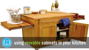 Movable Kitchen Cabinets Movable Kitchen Cabinets The Pros Cons You Need To