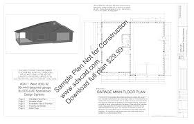 Detached Garage Plans And Cost In Traditional Detached Plans Plans