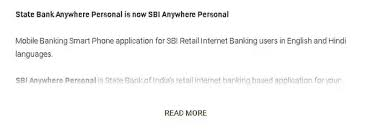 which app should be used for sbi online banking updated 2017