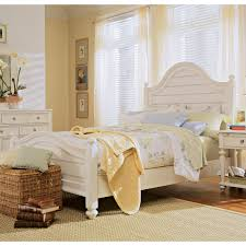 Where To Buy Quality Bedroom Furniture by Paula Deen Home Steel Magnolia Panel Bed Hayneedle