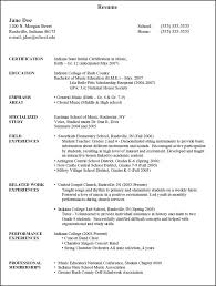 Resume Education Sample by Resume Templates Education Section