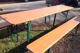 german beer garden table and bench marquee furniture directly from the manufacturer germany round beer