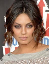 curly layered bob double chin 20 stunning short hairstyles for round faces