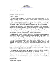 sample cover letter for teaching job education consultant cover