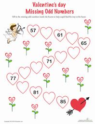 we heart math 10 valentine u0027s day worksheets education com