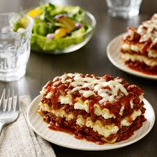 Meat Lasagna Recipe With Cottage Cheese by Three Cheese Beef Lasagna Recipe Ragú