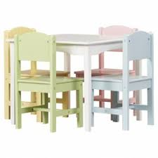hand painted childrens table and chairs open travel