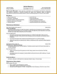 Healthcare Resume Examples by 12 Healthcare Resume Bibliography Format