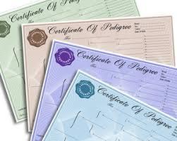 pedigree forms u0026 certificates create a free pedigree forms account