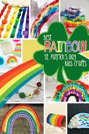 best rainbow st patrick u0027s day crafts for kids onecreativemommy com