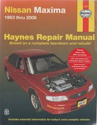 nissan maxima a32 a33 1993 2008 haynes service repair manual
