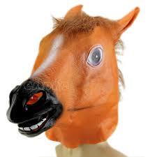 fake horse head halloween party horse head mask animal costume prop gangnam style