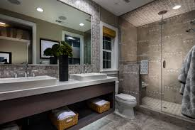 gale ranch posante collection larissa model luxurious master bath with spacious shower and built in seat