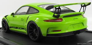 porsche 911 gt3 rs green spark model wax02200001 scale 1 12 porsche 911 991 gt3 rs coupe