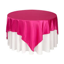 table overlays for wedding reception wedding table overlay pink and blue tables wedding reception