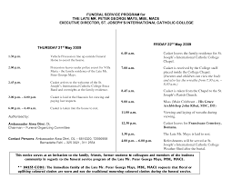 memorial programs catholic funeral programs free templates free funeral program