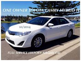 toyota camry hybrid for sale by owner toyota camry hybrid in adelaide region sa gumtree australia