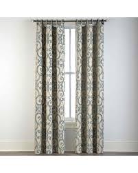 cindy crawford drapes deal alert 51 off palais grommet top curtain panel