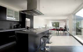 cuisine moderne ouverte beau cuisine moderne ouverte sur salon avec cuisine moderne