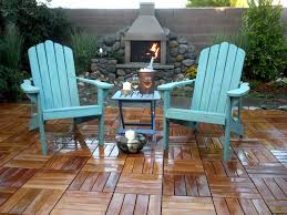 simple flooring with interlocking patio tiles the latest home