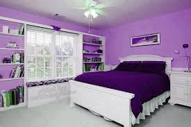 Purple Bedroom Design Interior Design For Purple Bedroom With Black Fancy Headboards And