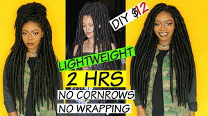 long hair equals hippie rihanna hippie faux locs lightweight version no wrapping no