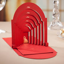 pop up wedding invitations wedding invitation 3d pop up cards