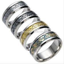 cool jewelry rings images Vintage gold dragon design 316l stainless steel ring jewelry cool jpg