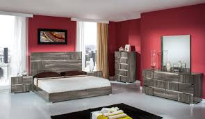 Italian Modern Bedroom Furniture Bellissi Furniture Modrest Picasso Italian Modern Grey Lacquer