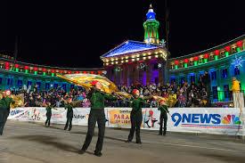 denver parade of lights 2017 2017 parade of lights preview free music