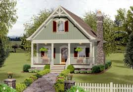 cottage home cozy cottage with bedroom loft 20115ga architectural designs