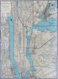 New York Manhattan Map New York Map Circa 1930s U2014 Beyond The Mountains Of Madness