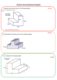 surface area and problem solving full lesson resources by