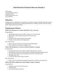 sample employment cover letter administrative assistant updates