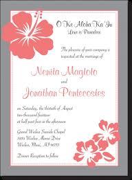 hawaiian wedding invitation templates cool hawaiian wedding