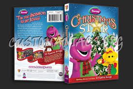 barney christmas star dvd cover dvd covers u0026 labels by
