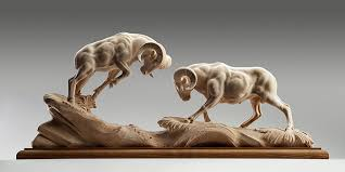 carved wooden animals intricately carved wooden animal sculptures leap to