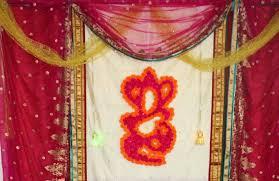 Wall Decoration At Home by Diy Flower Ganesh Wall Decor Readyfordiy Youtube