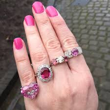 Pink Wedding Rings by 26 Pink Diamond Engagement Ring Designs Trends Design Trends