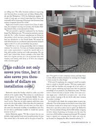 Arnold Reception Desks by Sunline Sliding Cubicles Are So They U0027re Even In The Media