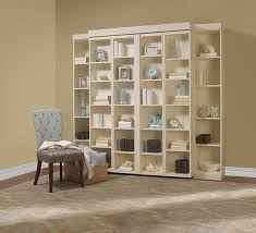 closed madison bi fold bookcase bed more space place plano texas