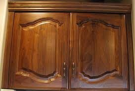 Walnut Cabinet Doors Hardwood Design December 2008
