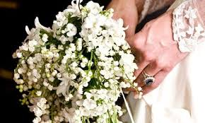Wedding Bouquets Kate Middleton U0027s Homegrown Bouquet Of Lily Of The Valley Follows
