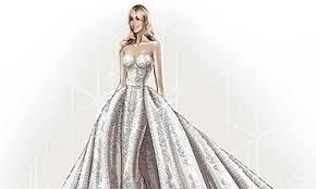 zuhair murad wedding dresses zuhair murad reveals sketch of sofia vergar s wedding dress