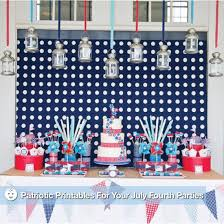 4th Of July Party Decorations Printable Fourth Of July Party Decorations Popsugar Moms