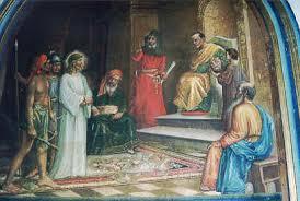 imagenes de jesus ante pilato visita a los 7 monumentos