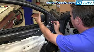 how to install replace fix broken side rear view mirror 2006 12