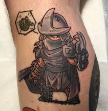 the shredder by squiggy at black gold tattoo in tulsa oklahoma